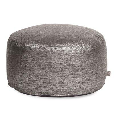 Townsend Pouf Foot Ottoman Upholstery: Glam Zinc