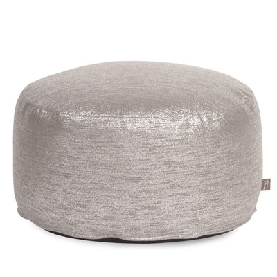Townsend Pouf Foot Ottoman Upholstery: Glam Pewter