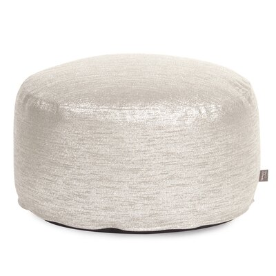 Townsend Pouf Foot Ottoman Upholstery: Glam Sand