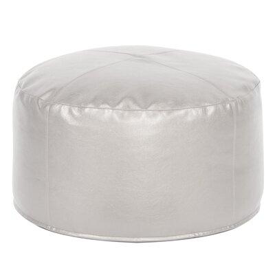 Sylvania Shimmer Ottoman Upholstery: Mercury