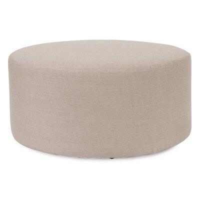 Josie Ottoman Slipcover Upholstery: Prairie Linen Natural