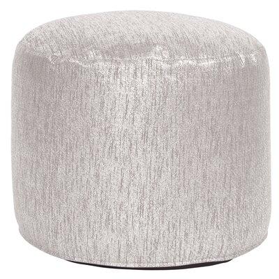 Bleeker Pouf Tall Ottoman Upholstery: Glam Sand