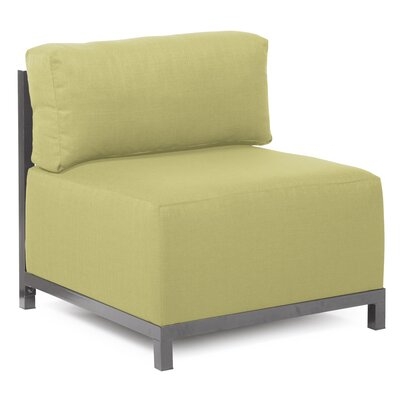 Woodsen Box Cushion Armchair Slipcover Upholstery: Sterling Willow