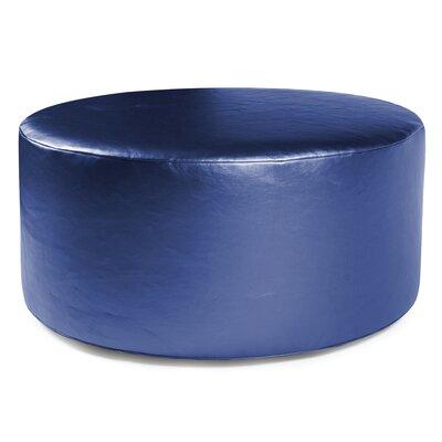 Josie Ottoman Slipcover Upholstery: Shimmer Sapphire