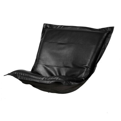 Azaria Avanti Chair Cover Upholstery: Black