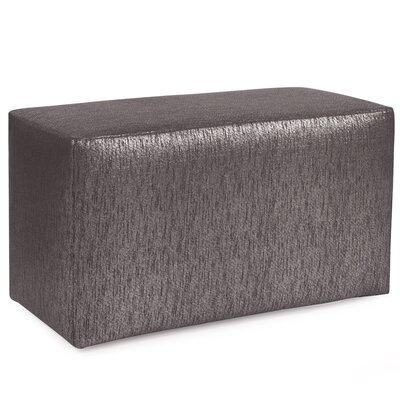 Alas Ottoman Slipcover Upholstery: Zinc