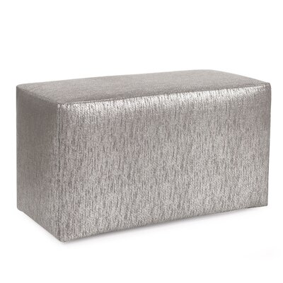 Alas Ottoman Slipcover Upholstery: Pewter