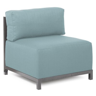 Woodsen SideChair Upholstery: Polyester - Sterling Breeze, Finish: Titanium