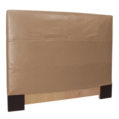 Lorena Upholstered Panel Headboard Size: Full / Queen, Upholstery: Bronze