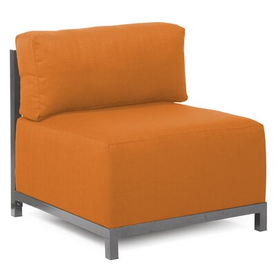 Woodsen SideChair Upholstery: Polyester - Sterling Canyon, Finish: Titanium