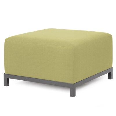 Alyssia Ottoman Finish: Titanium, Upholstery: Willow