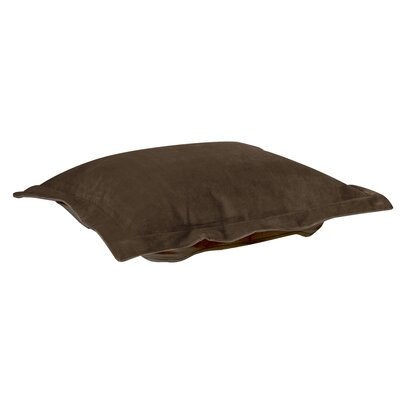 Azaria Throw Pillow Color: Bella Chocolate