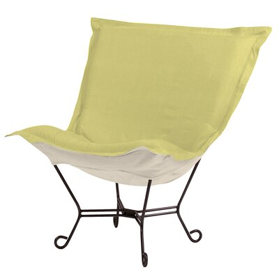 Azaria Scroll Lounge Chair Color: Sterling Willow