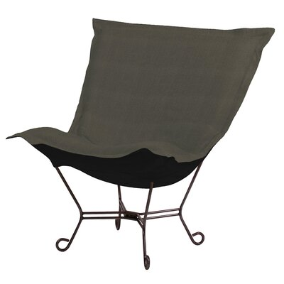 Azaria Scroll Lounge Chair Upholstery: Sterling Charcoal