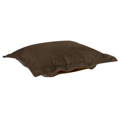 Azaria Ottoman Slipcover Upholstery: Bella Chocolate