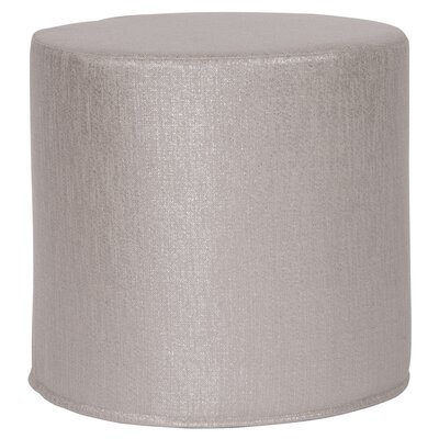 Contreras Pouf Upholstery: Glam Pewter