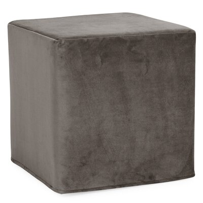 Contreras Block Ottoman Upholstery: Bella Pewter