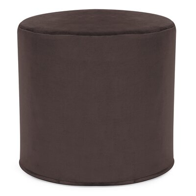 Contreras Cylinder Ottoman Upholstery: Bella Chocolate