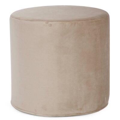 Contreras Cylinder Ottoman Upholstery: Bella Sand