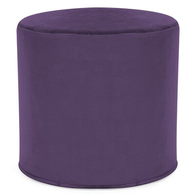 Contreras Cylinder Ottoman Upholstery: Bella Eggplant