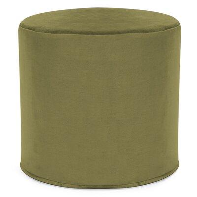 Contreras Cylinder Ottoman Upholstery: Bella Moss