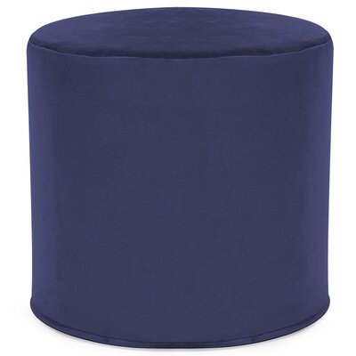 Contreras Cylinder Ottoman Upholstery: Bella Royal