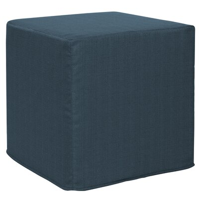 Contreras Block Ottoman Upholstery: Sterling Indigo
