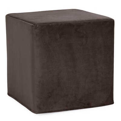 Contreras Cube Ottoman Upholstery: Bella Chocolate