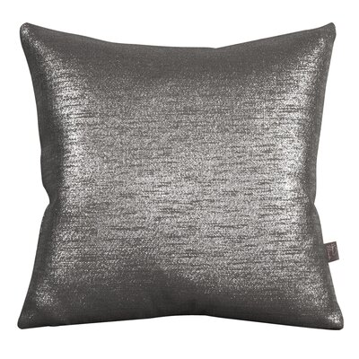 Abshire Throw Pillow Color: Glam Zinc, Size: 20 H x 20 W x 8 D