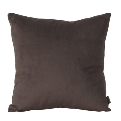 Abshire Throw Pillow Size: 20 H x 20 W x 8 D, Color: Bella Chocolate