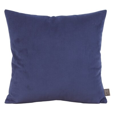 Abshire Throw Pillow Color: Bella Royal, Size: 20 H x 20 W x 8 D
