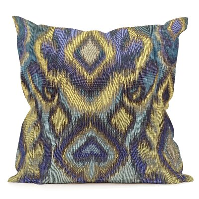 Brileys Throw Pillow Size: 16 H x 16 W x 8 D, Color: Opal Pacific