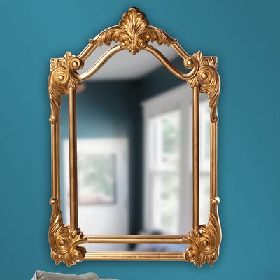 Arch/crowned Bright Gold Mirror