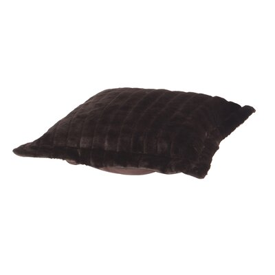 Azaria Puff Throw Pillow Color: Mink Kiwi