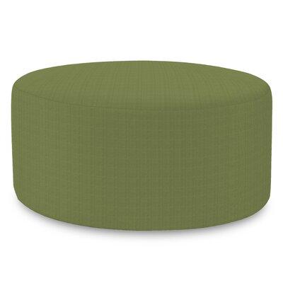 Fenham Ottoman Fabric: Sunbrella� Acrylic - Seascape Moss