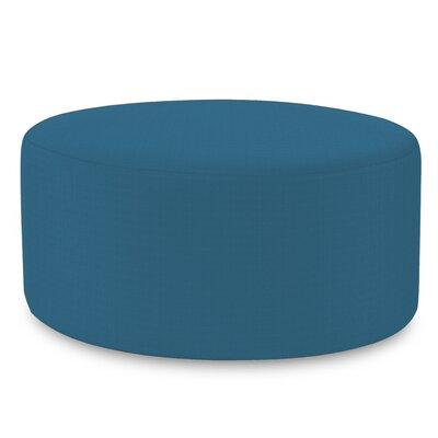 Fenham Ottoman Fabric: Sunbrella� Acrylic - Seascape Turquoise