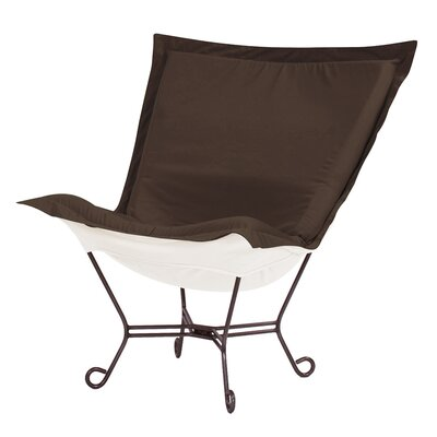 Claribel Lounge Chair Upholstery: Seascape Chocolate