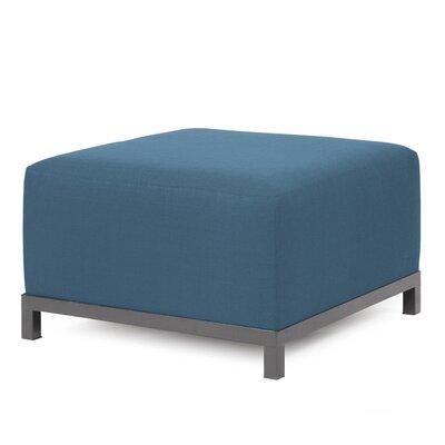 Woodsen Ottoman Slipcover Upholstery: Seascape Turquoise