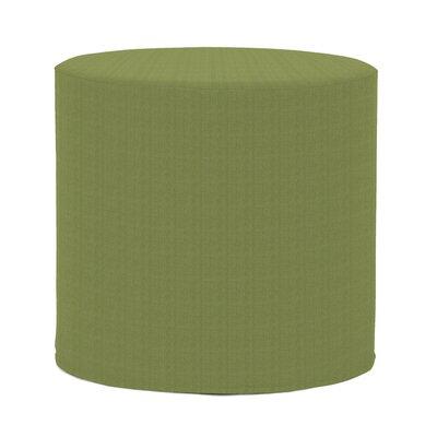 Contreras Cylinder Ottoman Fabric: Sunbrella� Acrylic - Seascape Moss