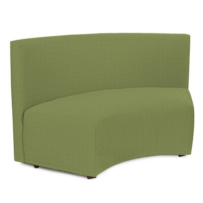 Mattingly Radius In-Curve Sofa Upholstery: Seascape Moss