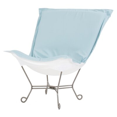 Claribel Lounge Chair Color: Seascape Breeze