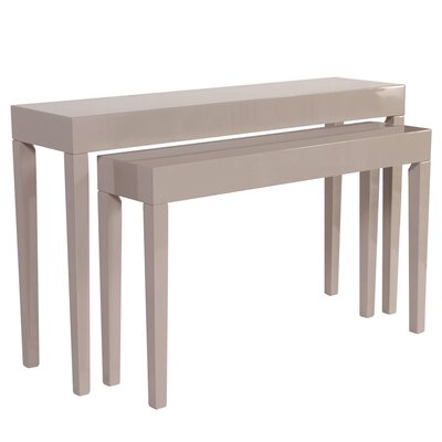 Julia 2 Piece Console Table Set
