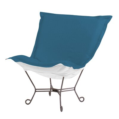 Claribel Lounge Chair Upholstery: Seascape Turquoise
