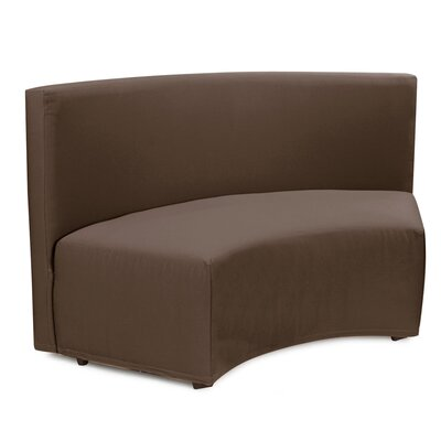 Mattingly Radius In-Curve Sofa Upholstery: Seascape Chocolate