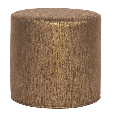 Alas Cylinder Ottoman Upholstery: Chocolate