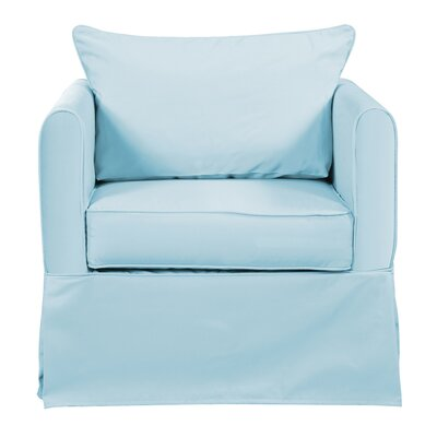 Ferguson 3 piece Chair Cover Upholstery: Seascape Breeze