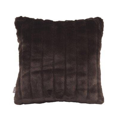 Nia Throw Pillow Size: Small, Color: Mink Brown