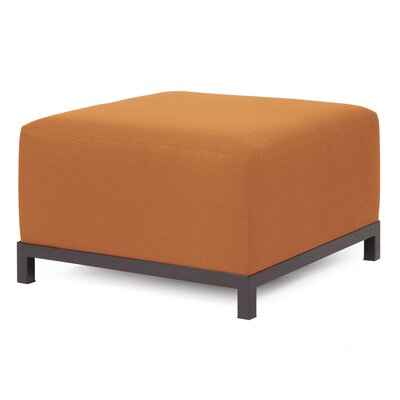 Woodsen Ottoman Finish: Titanium, Fabric: Canyon