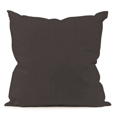 Sandalwood Outdoor Sunbrella Throw Pillow Fabric: Seascape Charcoal