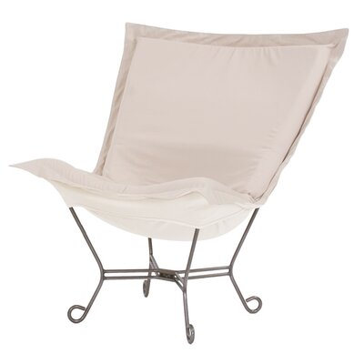 Claribel Lounge Chair Color: Seascape Sand